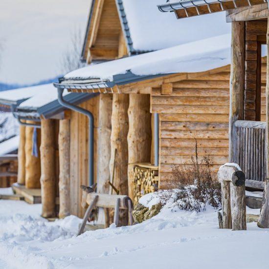 Winterromantik auf der Nordweide